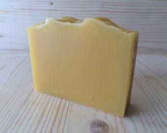 Carrot & Lemon Soap with Lemon Essential Oil