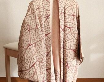 Haori KIMONO Colorfully-dyed pattern-like design