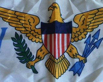 "US Virgin Islands Nautical Flag 11"" x17"""