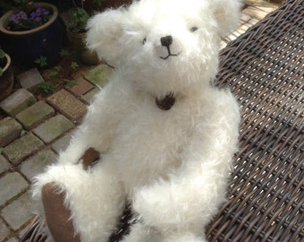 Opal, a limited edition hand made mohair collector's bear