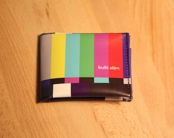 Slim Vinyl Men's Wallet: Stand By