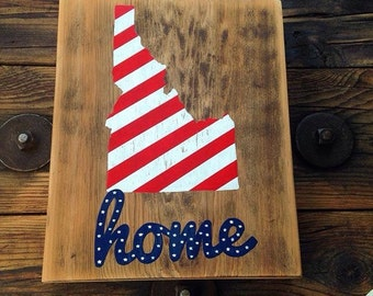 Idaho Sign• Home• Home Decor