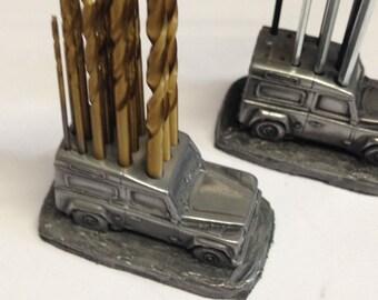 Drill Bit Holder Land Rover defender 15 drill bits 1/1.5/2/2.5/3mm HSS ref115 car