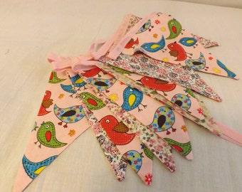 Handmade Vintage style bunting