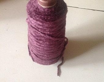 Purple Chenille Weaving Yarn
