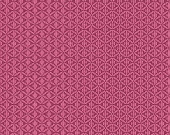 Botanique Criss Cross Berry by Riley Blake Designs - Purple Pink - Quilting Cotton Fabric - by the yard fat quarter half