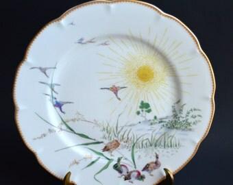 Haviland Limoges Ete Limited Edition Plate