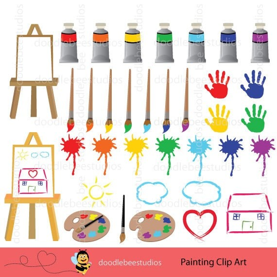 Painting Clipart Paint Clipart Art and Craft Clipart Paint