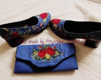 Set: Bag and shoes