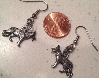 GERMAN SHEPHERD Earrings Benefit Pet Rescue