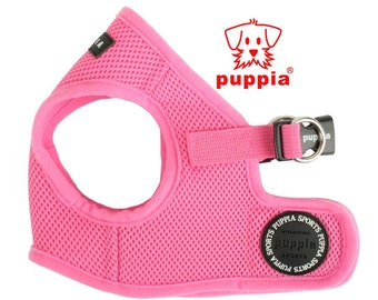 Mesh Soft Harness Vest by Puppia - Pink - PAHA-AH305