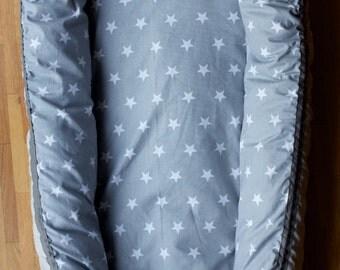 Baby nest star grey
