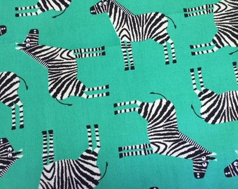 Zebras with Faux Leather