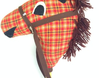 Broomstick horse toy