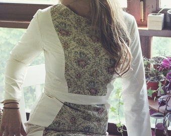 Silk Embroidery Dress