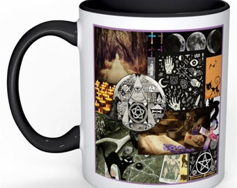 Wiccan witchy spiritual mug