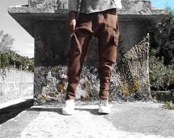 Skinny Mens Cargo Pockets