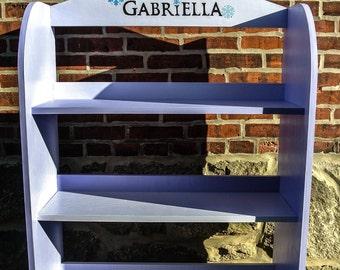 Frozen Themed Bookcase, Frozen Themed Shoe Rack, Frozen Themed Shelf, Frozen Themed Handmade Bookcase, Frozen Girly Themed Bookcase, Frozen