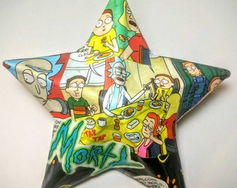 Rick And Morty Christmas Ornament /Geek Party Favor / Geek Gift