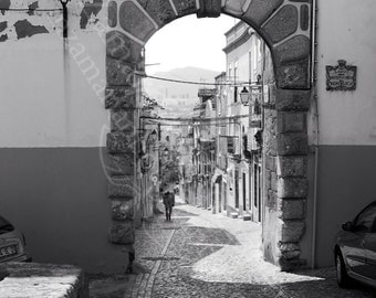 Archway Shade Black & White || PHYSICAL PRINT