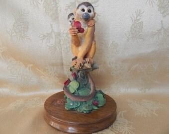 W.W.F. Black Squirrel Monkey Willitts Design 1992