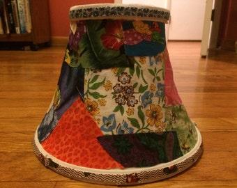 Funky Fabric Lamp Shade