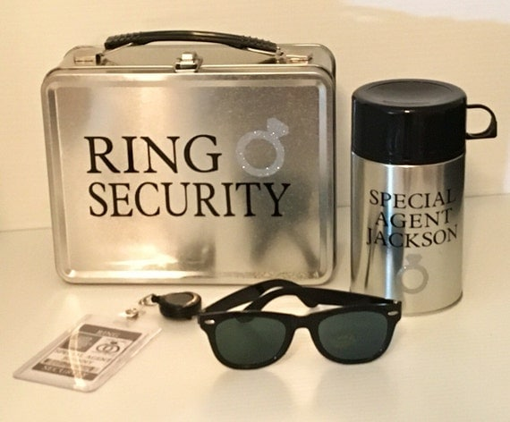 Official Ring Bearer Security Badge