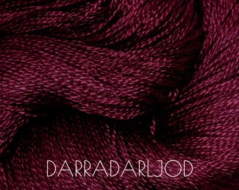 DARRANDARLJOD Lace - 100% Mulberry Silk yarn