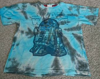 Star wars tie dye R2D2 tshirt