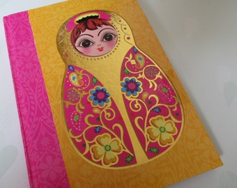 Hardback Russian Doll Notebook