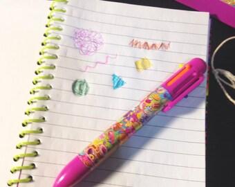 Lisa frank 6-in-1 color pen