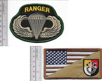 Ranger US Army 3rd Special Forces Group Airborne & Ranger Parachutist Wings