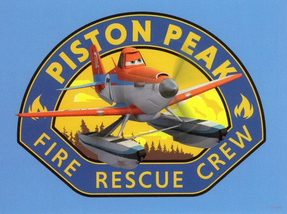 Disney Piston Peak Fire Rescue Crew Dusty by JoycesTreasureBox