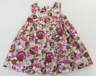 Autumn flowers dress