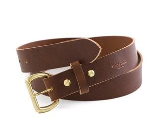 Saddle Brown Belt