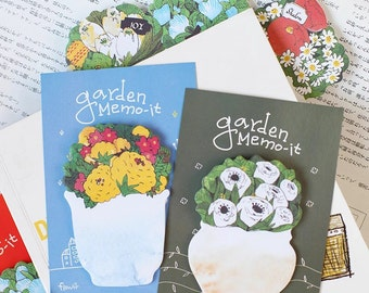 Lovely Flower Memo Pads