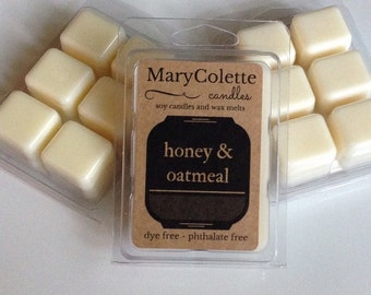 Honey And Oatmeal Soy Wax Melts | Soy Wax Melts | Soy Wax Melts | Honey & Oatmeal