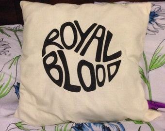 Handmade Royal Blood Cushion