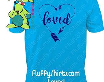 Loved Print Shirt