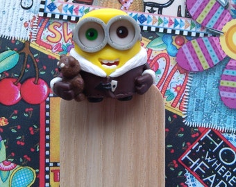 Bookmark minion Bob. Gift for children.