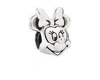 Pandora Minnie Sterling Silver Disney Portrait Charm #791587