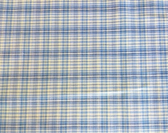 Blue Yellow Plaid