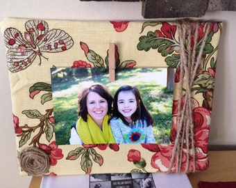 8x10 Wooden Picture Frame-Floral
