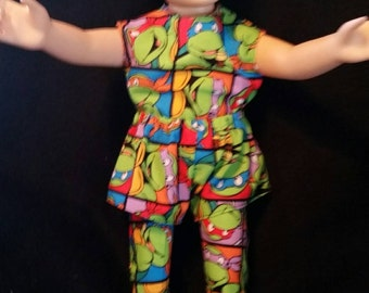 Turtles 3 piece outfit