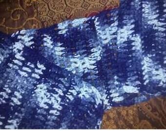 Warm designer scarf