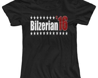 Bilzerian 16 Funny Presedential Elections Women's T-Shirt