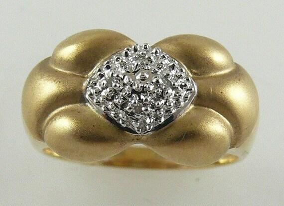 Diamond Rings 0.10ct - 14k Yellow Gold