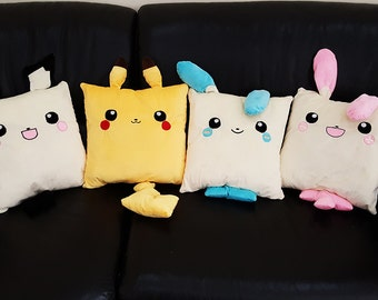Pikachu / Pichu / Minun / Plusle Cushions