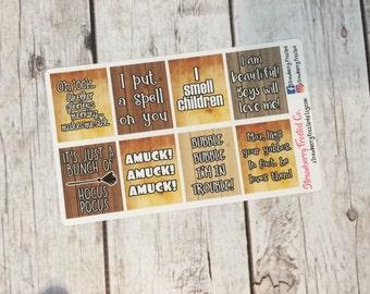 MINI Hocus Pocus Inspired Quote Boxes-
