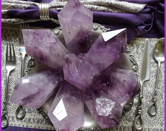 Deliciously Deluxe Amethyst Wands